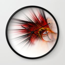Red totem Wall Clock