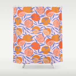 Sweet citrus Shower Curtain