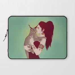 Wildcat Lady Laptop Sleeve