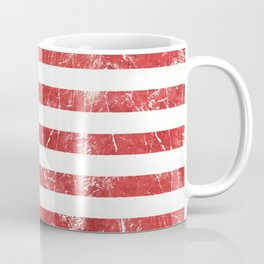 American Grunge Flag Coffee Mug