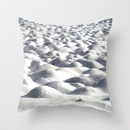 Snoww Throw Pillow