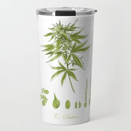 Cannabis Sativa Travel Mug