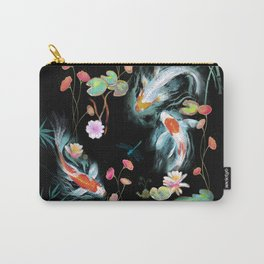 Japanese Water Garden Carry-All Pouch