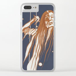 Butoh Hag Clear iPhone Case