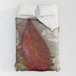 Creame De'Leaf Comforters