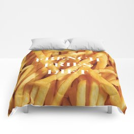 French Fries Diet Comforters