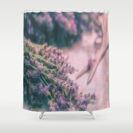 Lavender Revival Shower Curtain