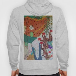 Llama and butterfly Hoody