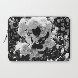 Black and White Snowballs Laptop Sleeve