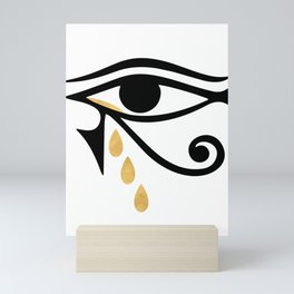 ALL SEEING CRY - Eye of Horus Mini Art Print