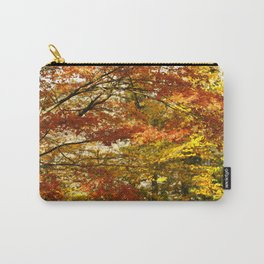 Forest foliage in Autumn Carry-All Pouch
