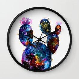 Galactic Cactus Wall Clock