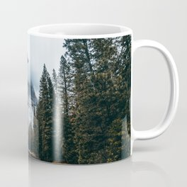 Misty Yosemite River Coffee Mug