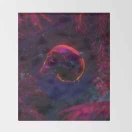 Hallow Throw Blanket