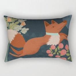 A Fox in The Forest Rectangular Pillow