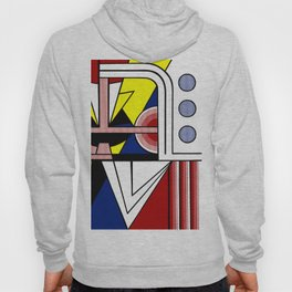 A digitally reworked   Roy Lichtenstein's pop art Hoody