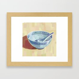 The Bowl You Grew Up With Framed Art Print