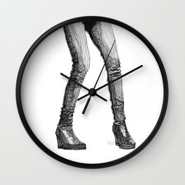 Fuss & Fight Wall Clock