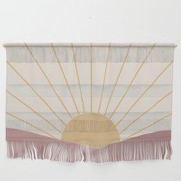 Morning Light - Pink Wall Hanging