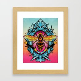 Giant Hornet Framed Art Print