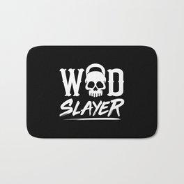 WOD Slay er Skull Bath Mat