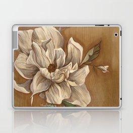 Magnolia on Wood Laptop & iPad Skin
