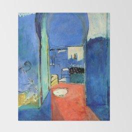 Henri Matisse The Casbah Gate Throw Blanket