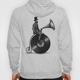 Music Man (monochrome option) Hoody