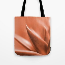 Succulent Leaves Coral Color #decor #society6 #buyart Tote Bag