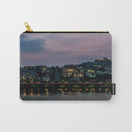Purple Skies Over Seoul Carry-All Pouch