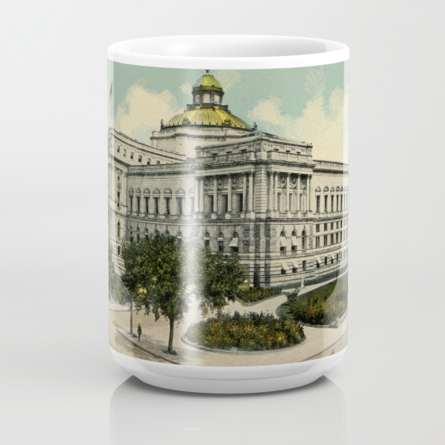 Library Of Congress Washington Dc 1900s Coffee Mug By Aapshop Society6