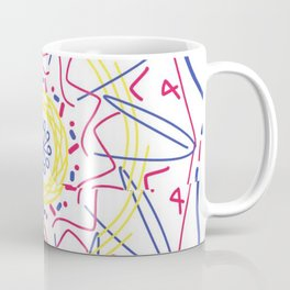 Hair in the wind Coffee Mug