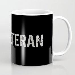Firefighter Veteran: The Thin Red Line Coffee Mug