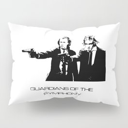 Brahms & Beethoven Guardians of the Symphony Pillow Sham