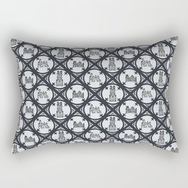 Window to the Past Rectangular Pillow