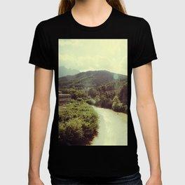 Between Mountains  T-shirt