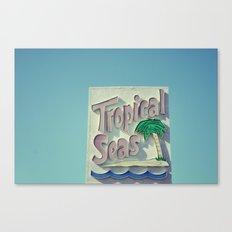 Tropical Seas Canvas Print