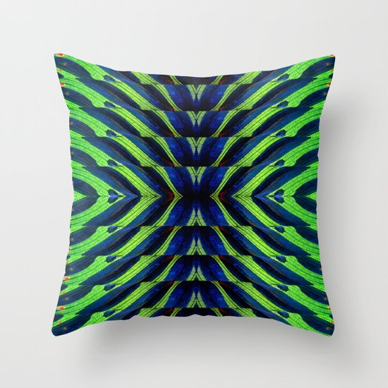 REFLECTED MARANTA Throw Pillow