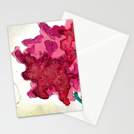 FANTASY FLOWERS Stationery Cards