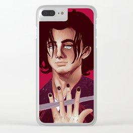 Sirius Black Clear iPhone Case