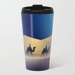 caravan at night Travel Mug