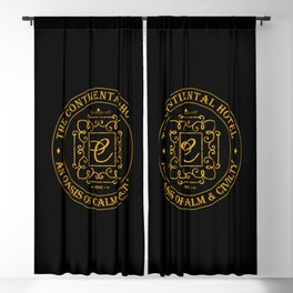 John Wick - The Continental Hotel Blackout Curtain