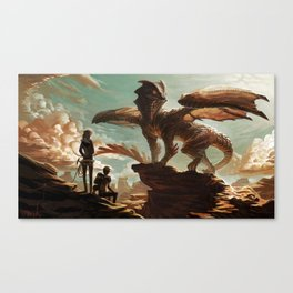 Hellkite Monarch Canvas Print