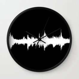 No Way - Music Wave Wall Clock