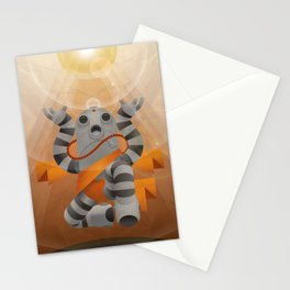 Hare Hare! (Spiritual Robots series) Stationery Cards
