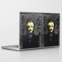 edgar allan poe Laptop & iPad Skins featuring Edgar Allan Poe by brett66