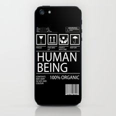 Human Food iPhone & iPod Skin