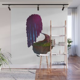Floating weeping willow Wall Mural