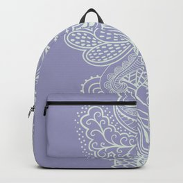 Abstract Nature in Ultraviolet Backpack