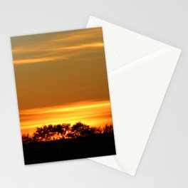 Sunset On The Prairies Stationery Cards